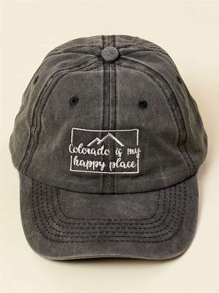 Colorado is My Happy Place Baseball Hat - A'Beautiful Soul
