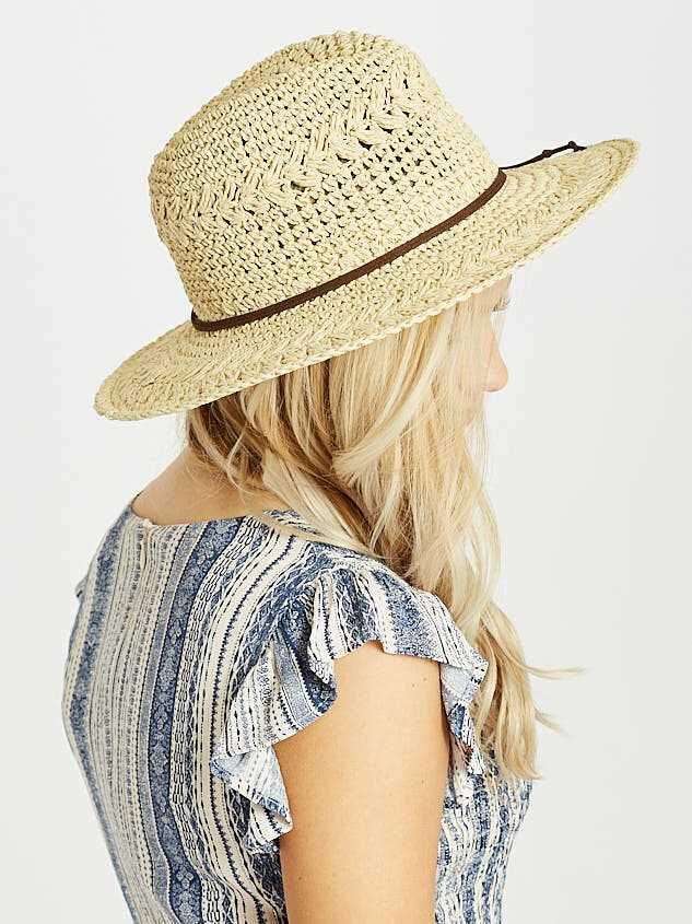 Beach Daze Panama Hat Detail 3 - A'Beautiful Soul