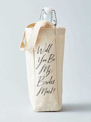 Vow'd Will You Be My Bridesmaid Bottle Tote - A'Beautiful Soul