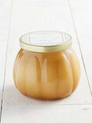Mustard Milk Glass Sanctuary Candle - A'Beautiful Soul