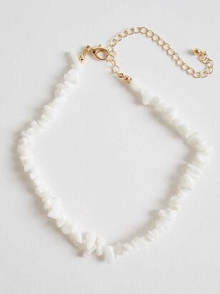 Tahiti Necklace - White - A'Beautiful Soul