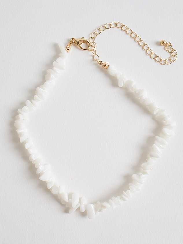 Tahiti Necklace - White - A'Beautiful Soul