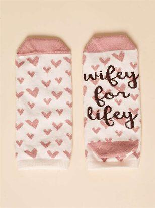 Wifey for Lifey Socks - A'Beautiful Soul