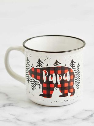 Papa Bear Camp Mug - A'Beautiful Soul