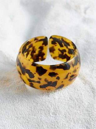 Acetate Cuff Bracelet - Tort - A'Beautiful Soul