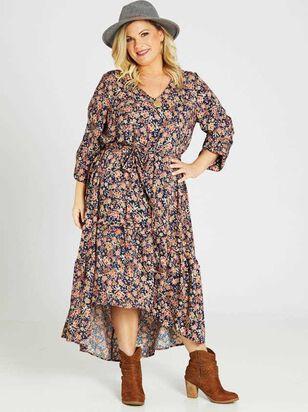Maven Midi Dress - A'Beautiful Soul