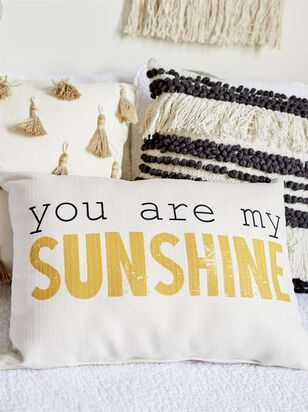 You Are My Sunshine Pillow - A'Beautiful Soul
