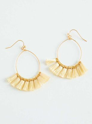 Tickled Tassel Earrings - A'Beautiful Soul