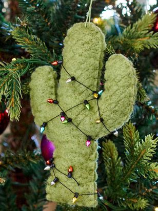 Felt Cactus Ornament - A'Beautiful Soul