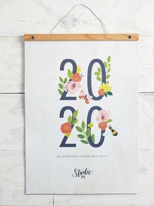 Inspirational 2020 Wall Calendar - A'Beautiful Soul