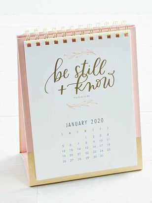 Be Still Desktop Calendar - A'Beautiful Soul