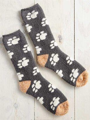 Cozy Dog Paw Socks - A'Beautiful Soul