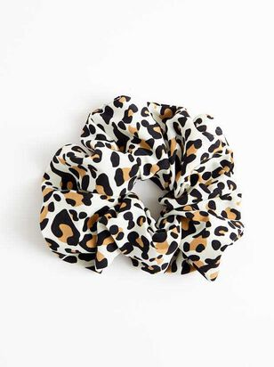 Leopard Super Scrunchy - A'Beautiful Soul