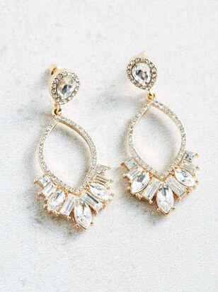 Iridescent Stone Earrings - A'Beautiful Soul
