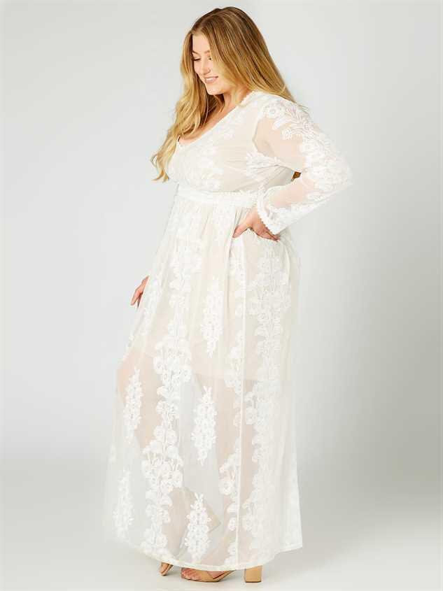 Norrie Maxi Dress Detail 2 - A'Beautiful Soul
