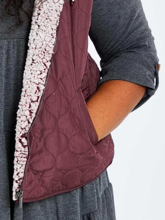 Carmen Outerwear Vest Detail 5 - A'Beautiful Soul