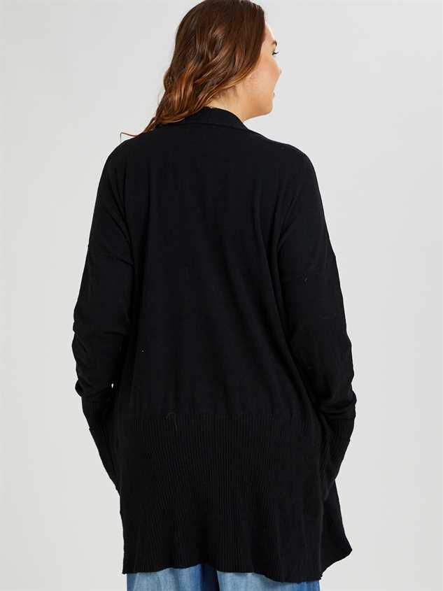 Mulberry Cardigan Sweater Detail 3 - A'Beautiful Soul