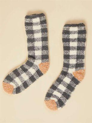 Antique Plaid Socks - A'Beautiful Soul