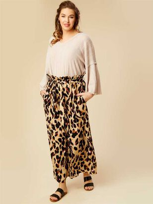 Leopard Cropped Pants - A'Beautiful Soul
