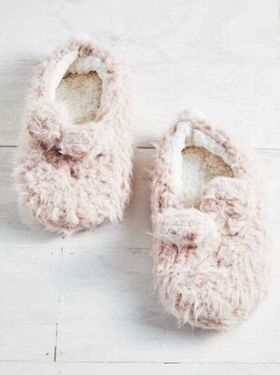 Shaggy Bunny Slippers - A'Beautiful Soul