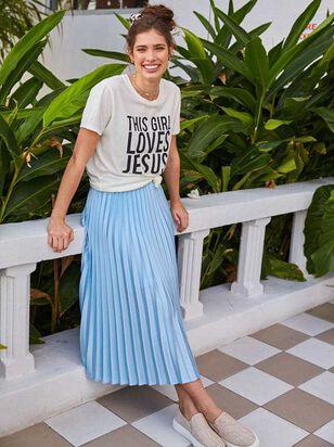 Avenue Midi Skirt