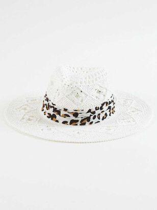 Leopard Straw Hat - A'Beautiful Soul