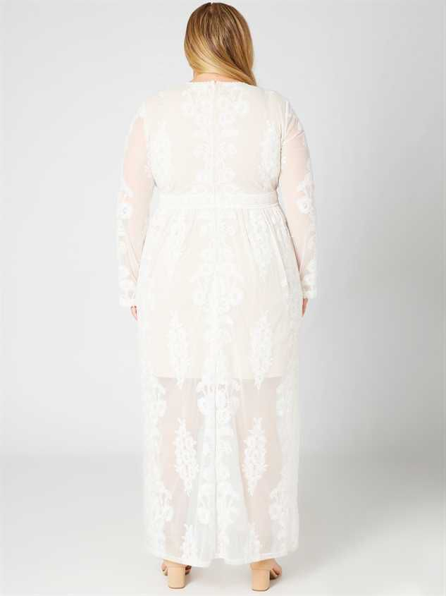 Norrie Maxi Dress Detail 3 - A'Beautiful Soul