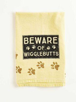 Beware of Wiggle Butts Hand Towel - A'Beautiful Soul