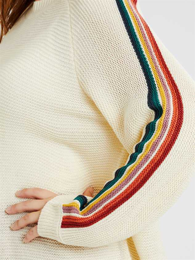 Over the Rainbow Sweater Detail 4 - A'Beautiful Soul