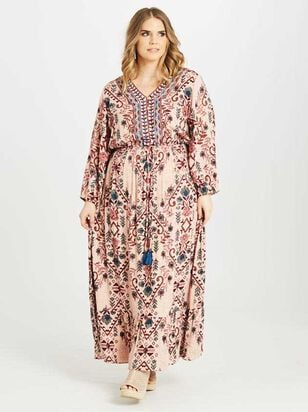 Carmen Maxi Dress - A'Beautiful Soul