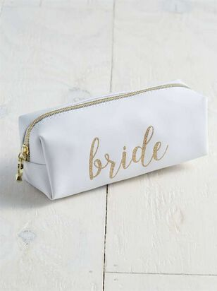 Bride Cosmetic Bag - A'Beautiful Soul