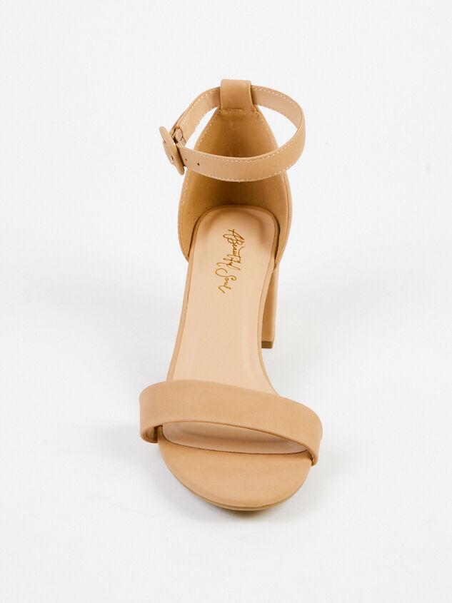 Hallie Wide Width Heels - Natural Detail 3 - A'Beautiful Soul