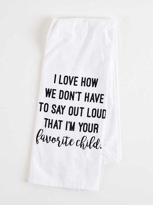 Favorite Child Hand Towel - A'Beautiful Soul