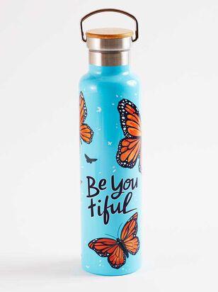BeYOUtiful Butterfly Water Bottle - A'Beautiful Soul