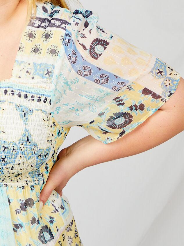 Tabitha Patchwork Dress Detail 4 - A'Beautiful Soul