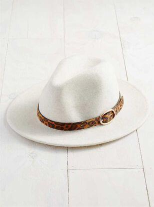 Leopard Belted Hat - A'Beautiful Soul