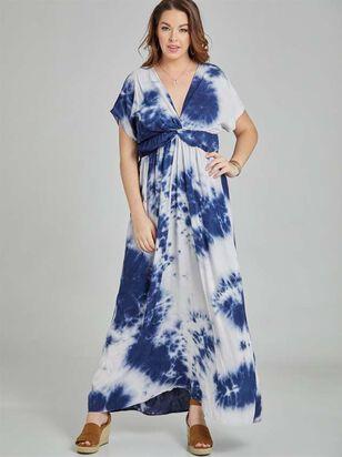 Tie Dye Maxi Dress - A'Beautiful Soul