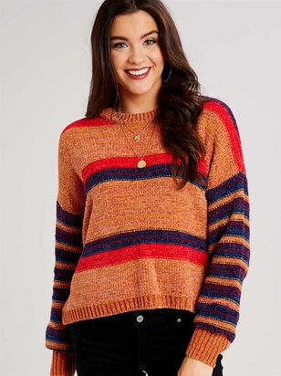 Eversoft Chenille Spiced Sweater - A'Beautiful Soul