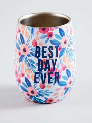 Vow'd Best Day Ever Tumbler - A'Beautiful Soul