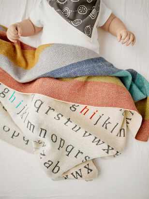 Tullabee Say My ABCs Blanket - A'Beautiful Soul