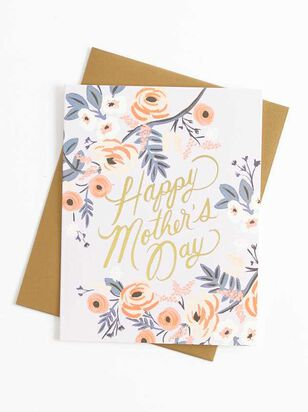 Mother's Day Floral Card - A'Beautiful Soul