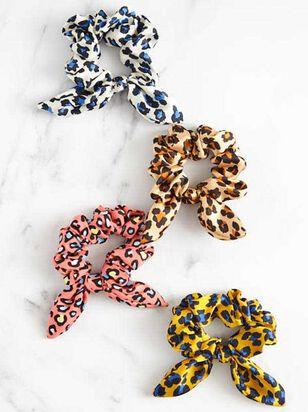Leopard Scrunchy Set - A'Beautiful Soul