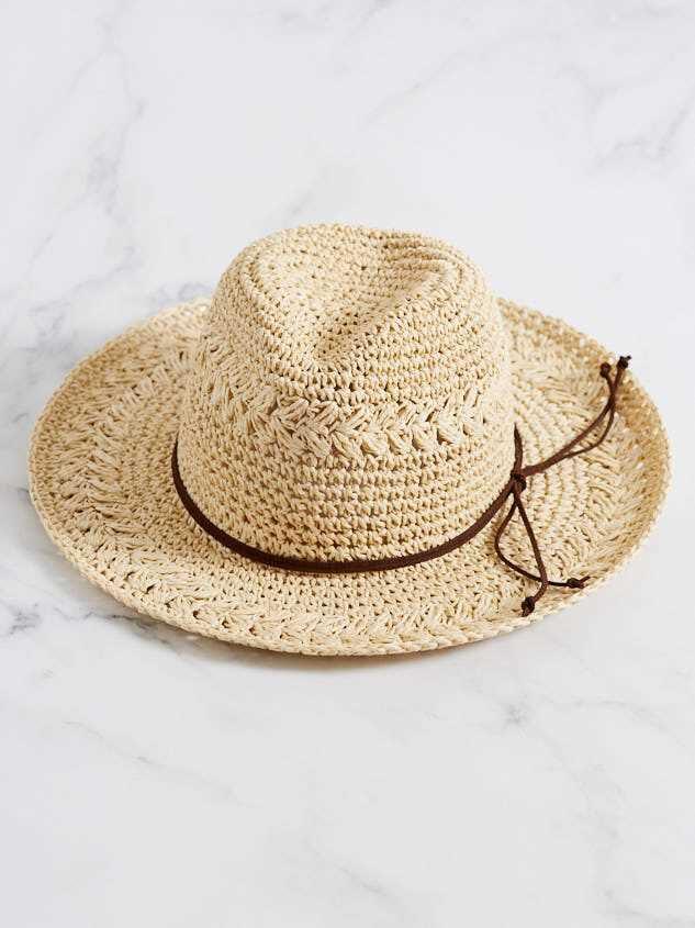 Beach Daze Panama Hat Detail 2 - A'Beautiful Soul