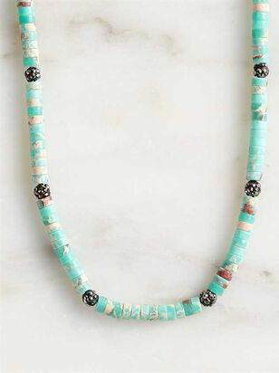 Natural Stone Puka Choker Necklace - A'Beautiful Soul