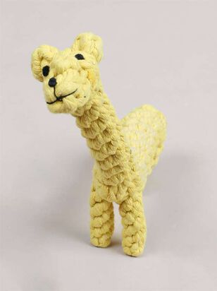 Giraffe Dog Toy - A'Beautiful Soul