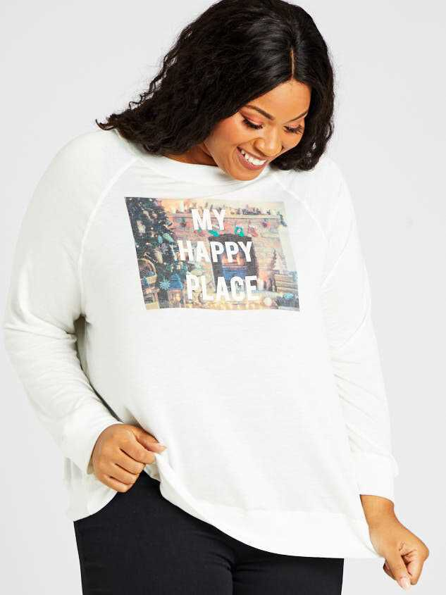 My Happy Place Top - A'Beautiful Soul