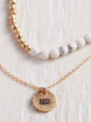 State Pride Necklace - Maryland - A'Beautiful Soul