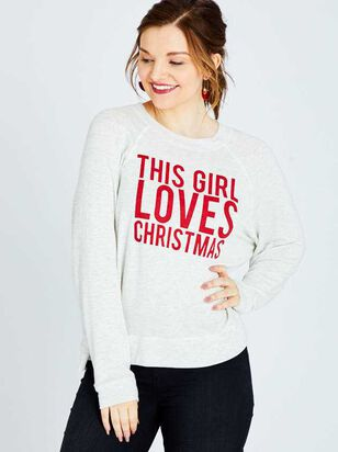 This Girl Loves Christmas Top - A'Beautiful Soul