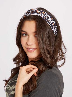 Leopard Hair Bandeau - A'Beautiful Soul