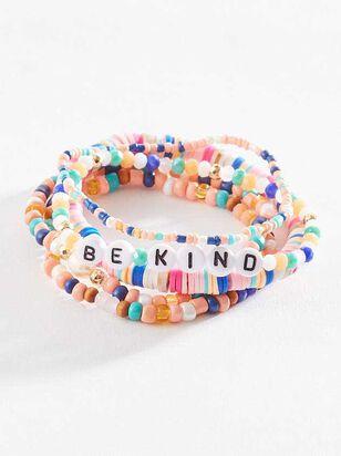 Positive Thoughts Bracelet Set - A'Beautiful Soul
